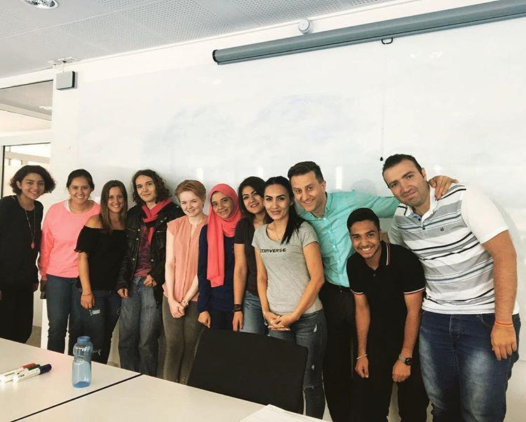 Наши студенты в Ганновере, Германия, в большой и дружной компании!