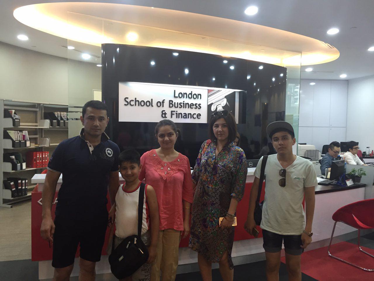 На экскурсии в LSBF дети решили, где будут учиться