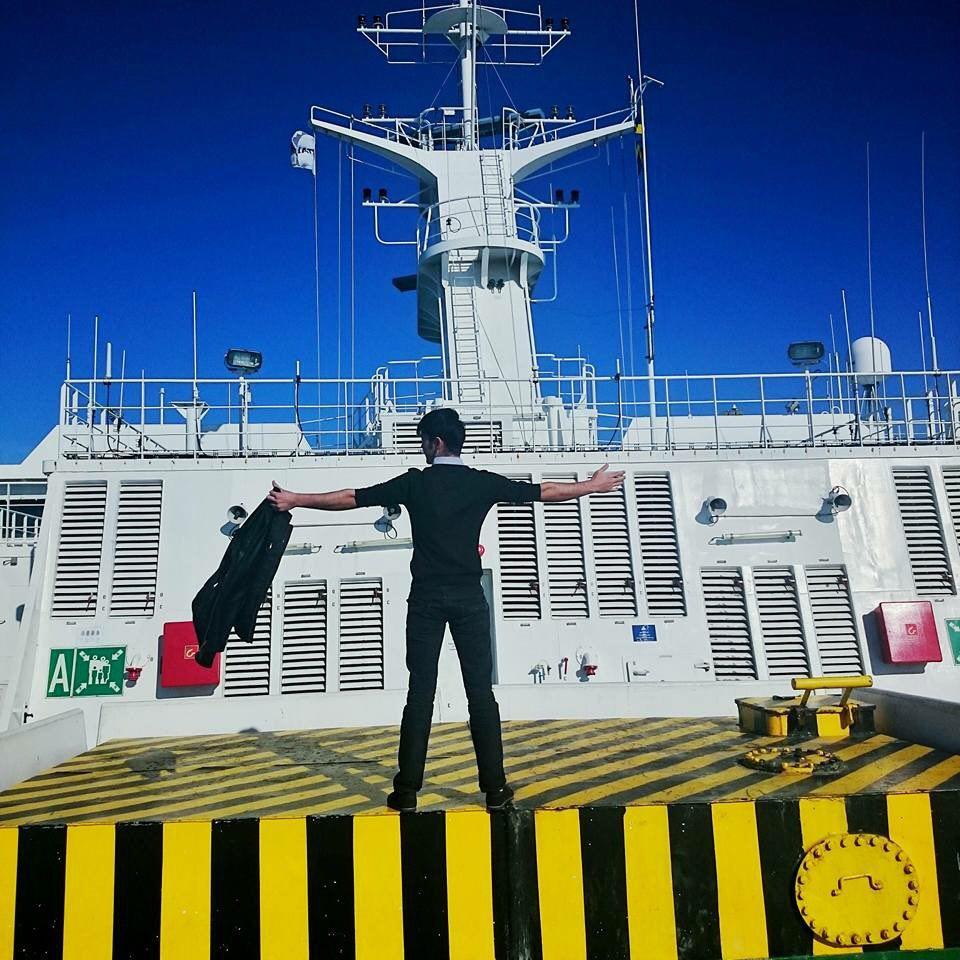 Почти как кадр из Титаника!