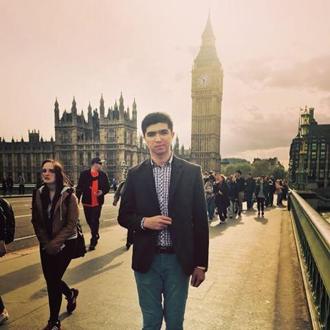 Привет из Лондона от Хусниддина!