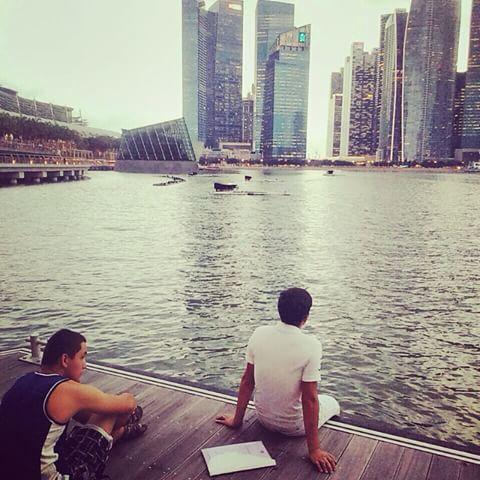 Волшебные виды Сингапура завораживают...