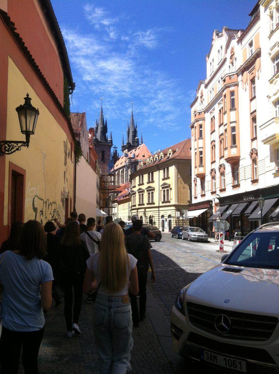 Узкие улочки Праги